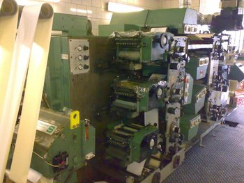 Gallus flexo printer