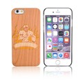 Big Camera Open Hole Bamboo Wood Mobile Phone Cover
