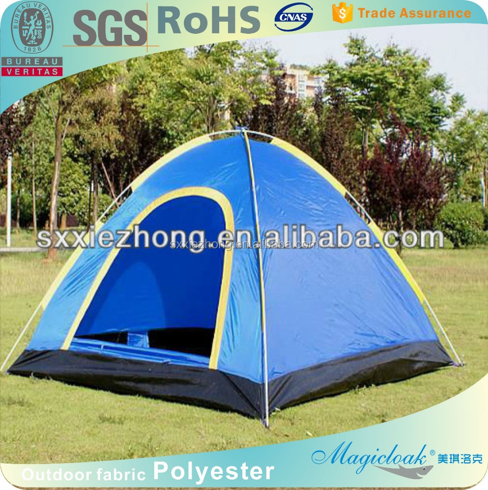 Hot Sale Fabrics for Tents!100% Polyester PU Coating Waterproof 210T Taffeta Tent Fabrics