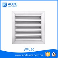 Exterior Air Conditioner Adjustable Waterproof Aluminum Louver