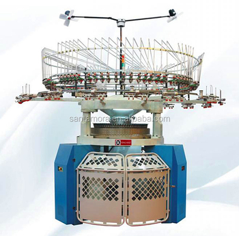 High Speed Double Jersey Electronic Jacquard Weaving Knitting Machine