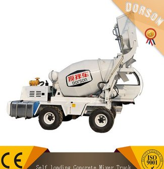 DLX4.0R Auto Charging self loading concret mixer