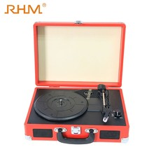 RHM Good Price modern gramophone record player with bluetooth