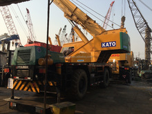 Original Japan Kato KR35H Mobile Crane Used 35 Tons Rough Terrain Crane For Sale