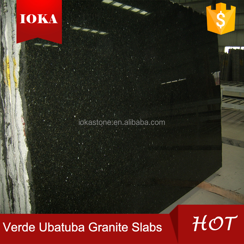natural verde ubatuba granite slab
