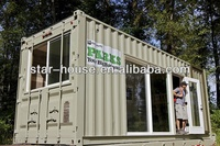 Smart ready made homes made of used Container