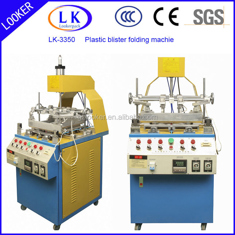 plasti blister edge folding machine