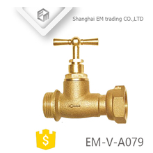 EM-V-A079 High Quality Brass Stop Cock Valve For Water Pipes