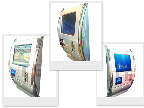 wall-mounted touch screen jukebox palyer/kiosk