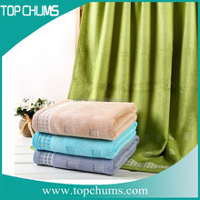 Top quality Dobby bleach wholesale organic bath towels