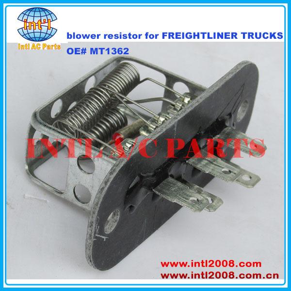 Heater Blower Motor Regulator Resistor For Freightliner