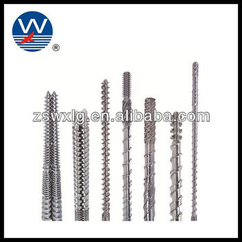 Nitriding single high speed screw barrel for blowing machine
