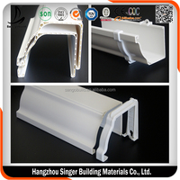 ASA Material UV Resistance 5.2 inch Rectangular PVC Pipe and Accessories
