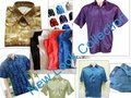 THAI SILK HALF SLEEVE MENS DRESS SHIRTS S\M\L\XL\XXL SIZES: ALL COLORS, PLAIN AND PATERN, EXPORT QUALITY- MOQ: 25 Sh