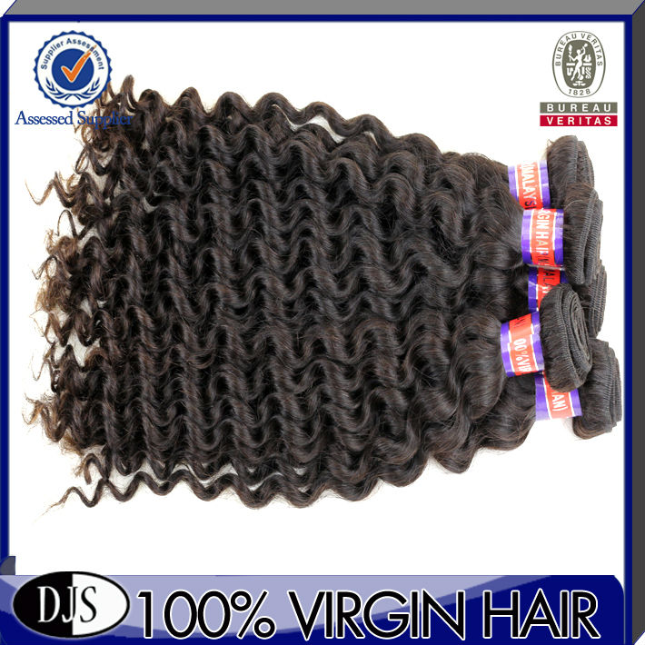 8-32 Inch in Stock,2013New,Hot Sale,Good Quality,100G/PCS,Water Curl Human Hair Bulk