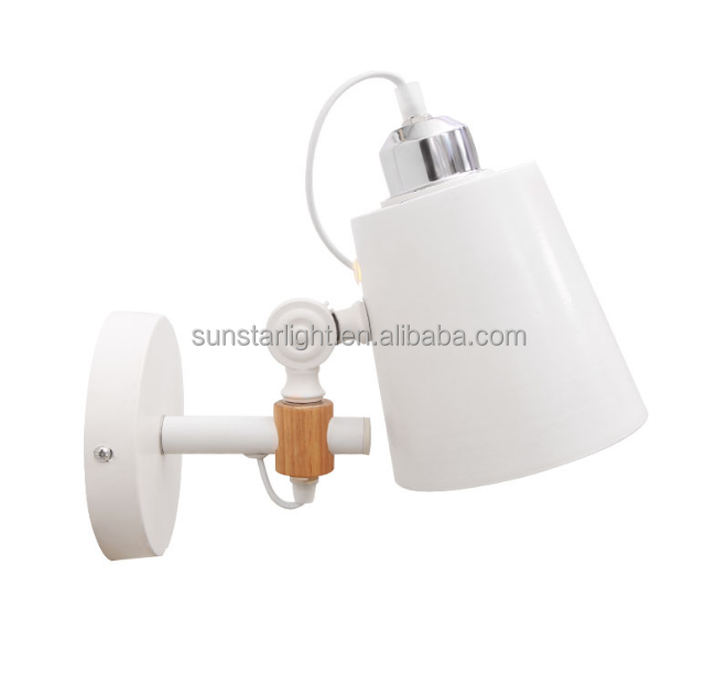 Hot Sale Popular Classic White Metal Modern Wall Lamp
