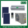 Hot sale cheapest hybrid ACDC 90% high quality 9000btu 12000btu solar air conditioner and hot water system
