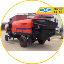 Customizable mobile concrete pump concrete line pump price