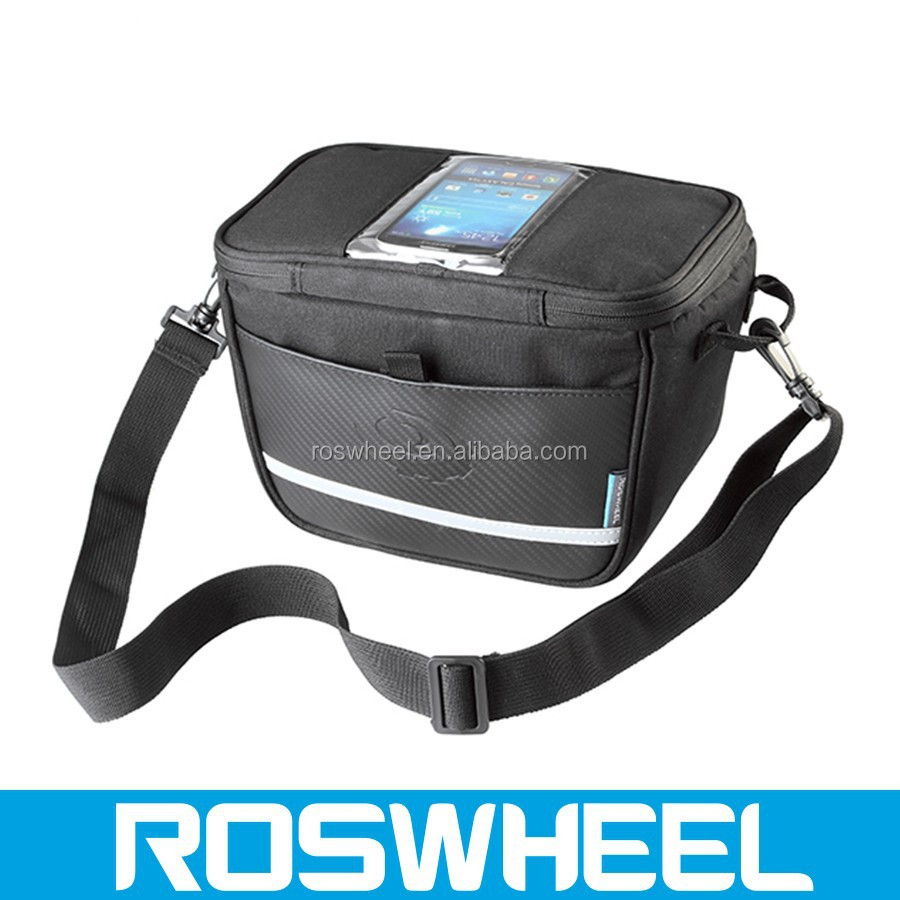 Wholesale High Quality waterproof bicycle travel handlebar bag with high density fabric 11812 travel bag with laptop compartment
