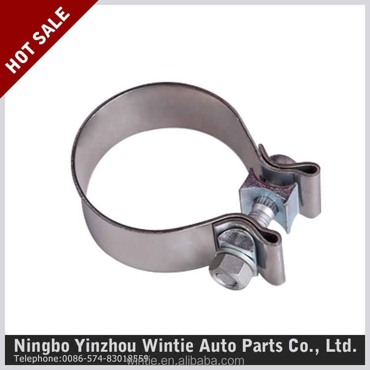 High Performance Accuseal Stainless Steel Exhaust Band Clamp