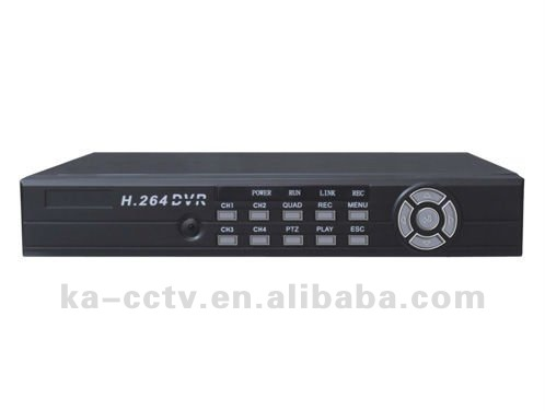 DVR 4CH H.264 Net Embedded Digital Video Recorder with competitive price