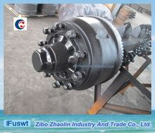 Shandong Germany BPW 12T 14T heavy duty trailer axles with plastic bag
