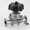 food grade sanitary straight way diaphragm valve by hand operated