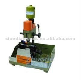 Speed adjust bead drilling machine
