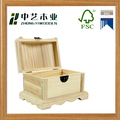 Wholesales handmade plain unfinished cheap wooden display boxes