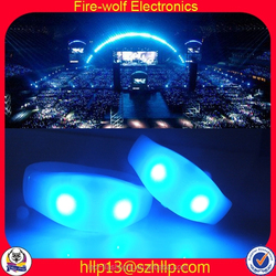 China High Quality Eco-Firendly Sound Activated Led Flashing Bracelet Supplier