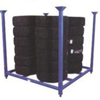 Heavy Duty Warehouse Steel Stacking Tire Racking