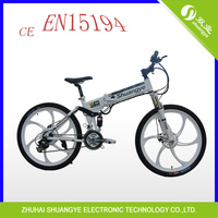 folding fastest electric mountain bike high speed