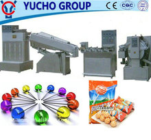 China Big Factory Good Price Flat Lollipop Production Line (Forming And Wrapping)