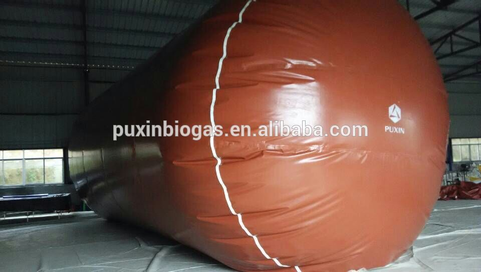 easy maintain PVC biogas storage balloon