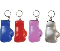 Exquisite Boxing Dloves Mini Key Chains