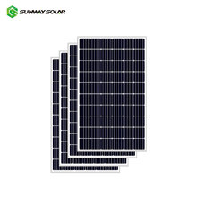 Sunway 220W mono solar panel with grade a solar cells 220w solar panels factory price