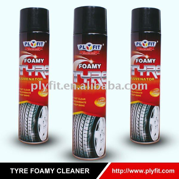 rich foamy high-efficiency tyre renew cleaner