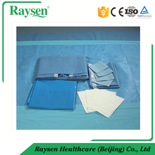 High Quality Disposable Operation Theatre surgical Gowns and incision drape