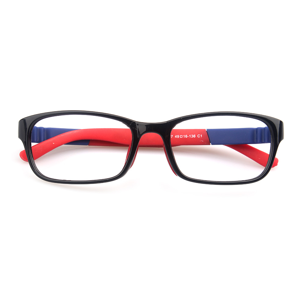 Taizhou YNJN manufacture custom anti blue light lenses kids tr90 eyeglass frames