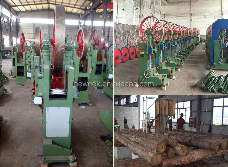 NEWEEK vertical wood working portable band saw mill for wood machinery