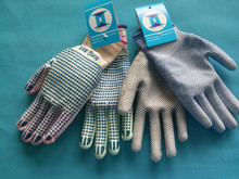 nylon gloves dotted pu