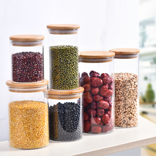 Eco Friendly Borosilicate <strong>Glass</strong> Storage <strong>Jars</strong> With Lid Food Kitchen <strong>Glass</strong> <strong>Jar</strong>