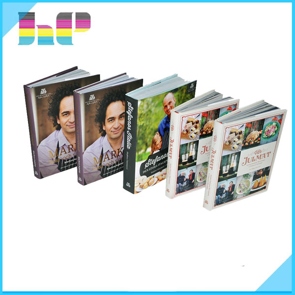 China wholesale cheap hardcover cookbook printing, coloring recipe book printing services