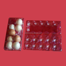 10 cells holes packs eggs PVC PET plastic blister thermoforming vacuum packaging trays
