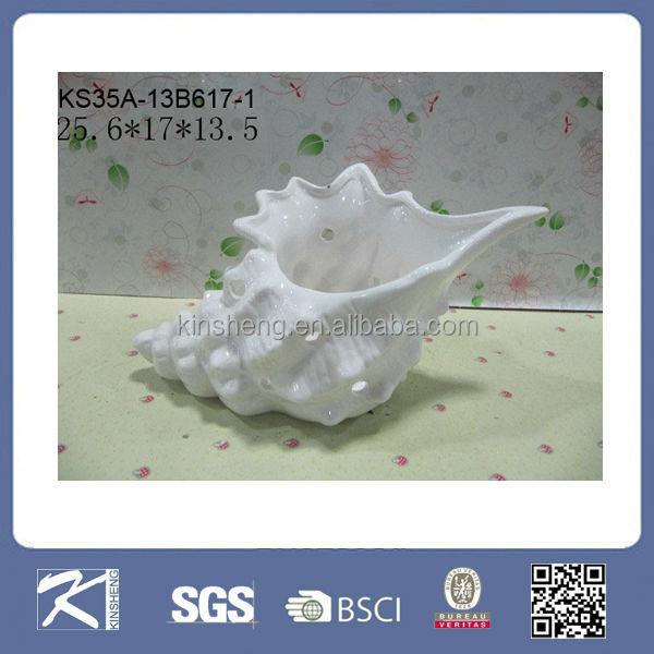 Kinsheng gifts new products porcelain conch shells