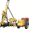 Portable Diesel DTH Drilling Rig Rock