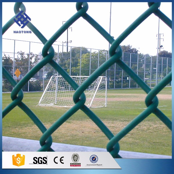 30 Years' factory supply wrought iron chain link fence