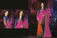 New Fabric Designs On Sarees