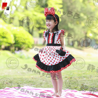 Toddler Girls Cute Red Polka Dots