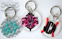 Guangzhou hot selling customize acrylic Keychains/keyrings